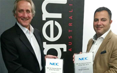 Nexgen wins NEC Australia unified comms partner of the year