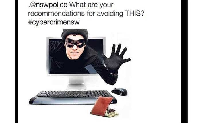 Pranksters hijack NSW Police's cyber-crime chat on Twitter