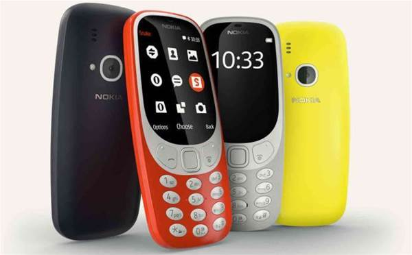 Nokia revamps 3310 and bets on long-lasting battery