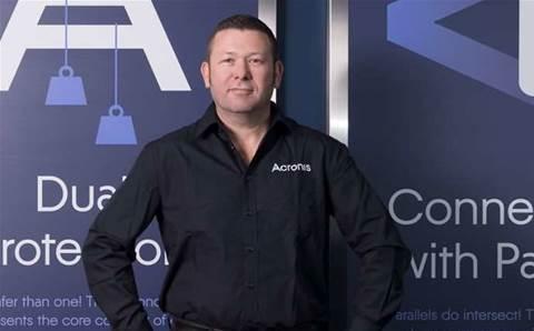 Acronis hires new Australian boss