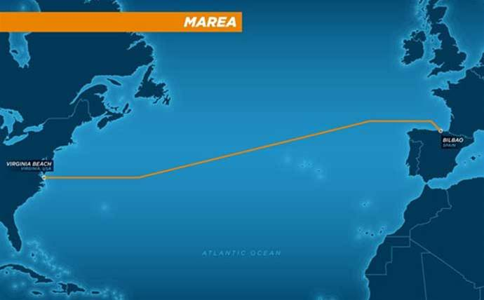 Microsoft and Facebook's US-to-Spain subsea cable completed