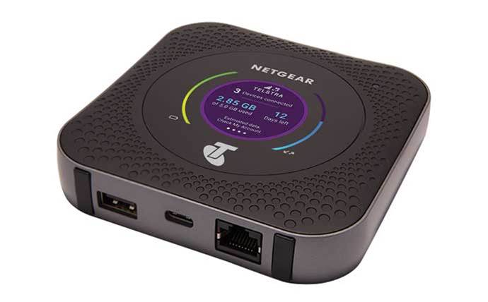 Telstra and Netgear launch 1Gbps mobile router