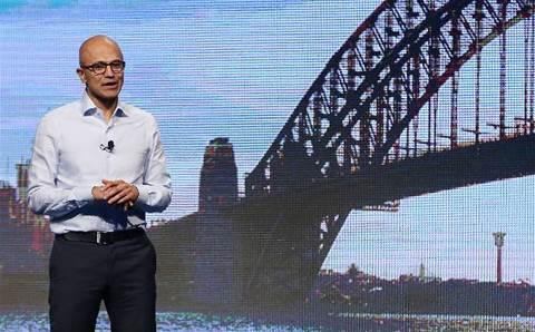Microsoft CEO praises Bupa, Webjet for cloud adoption