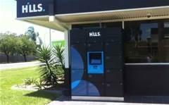 Hills trials 24-hour lockers to deliver ICT equipment