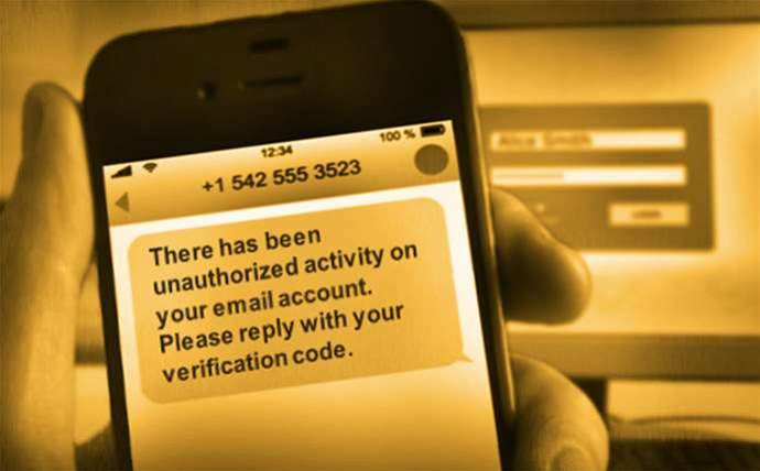 Bank phishing scam targets users with text messages