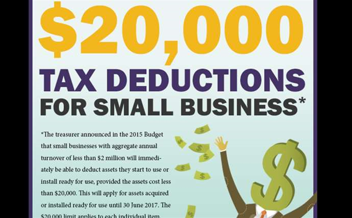 The reseller campaigns to capitalise on $20k tax break
