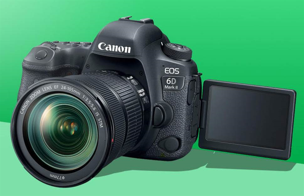 Canon 6D Mark II flips out with new screen and sensor