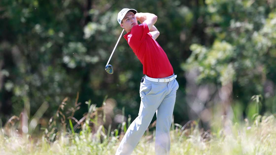 NSW Open: Amateur Coletta leads the way