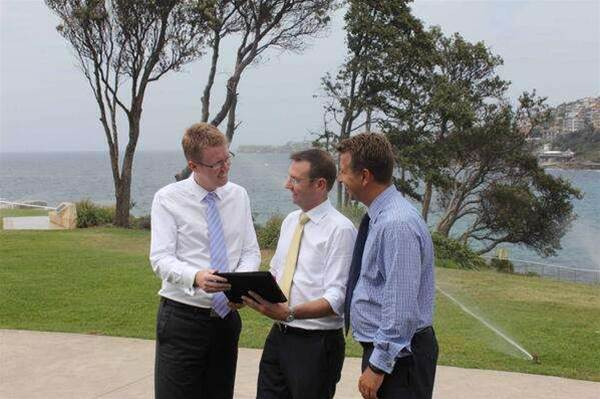 Randwick council controls water recycling from iPad