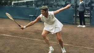 Margaret Court recalls tough days of amateur tennis