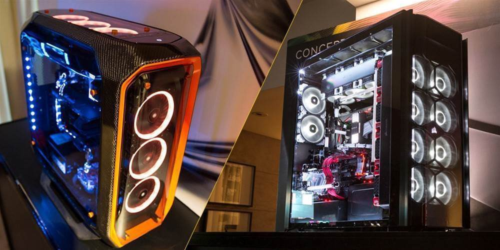 Corsair unveiled two cool new PC case concepts at Computex