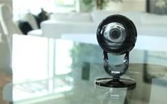 New budget security camera has a 180-degree lens