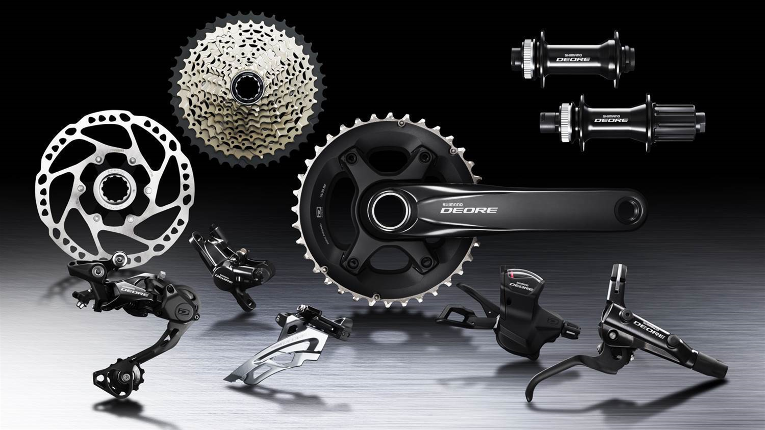 Shimano release upgraded Deore series