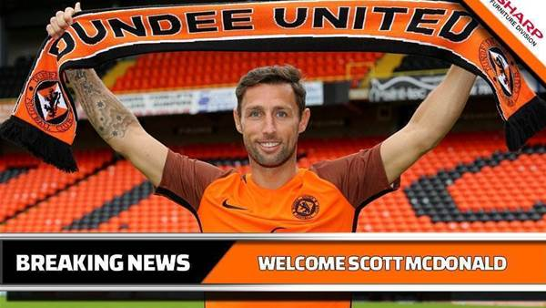 Scott McDonald joins Dundee United