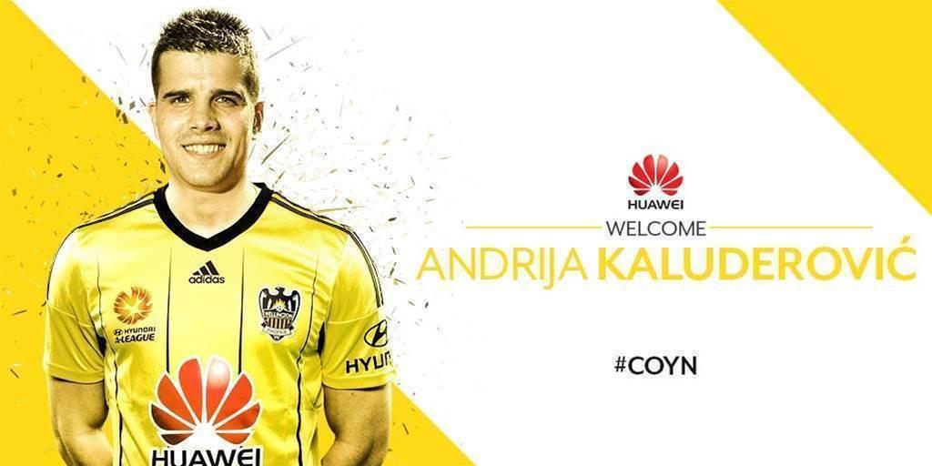 Phoenix sign Serbian striker Kaludjerovic