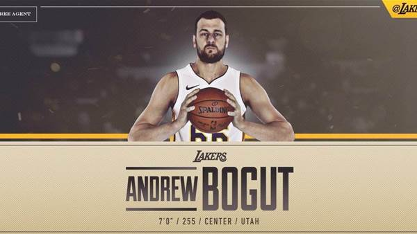 Andrew Bogut signs for LA Lakers
