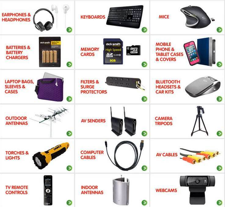 Deal spotted: 40 per cent off surge protectors, headphones, bags, memory cards, other accessories at Dick Smith this weekend