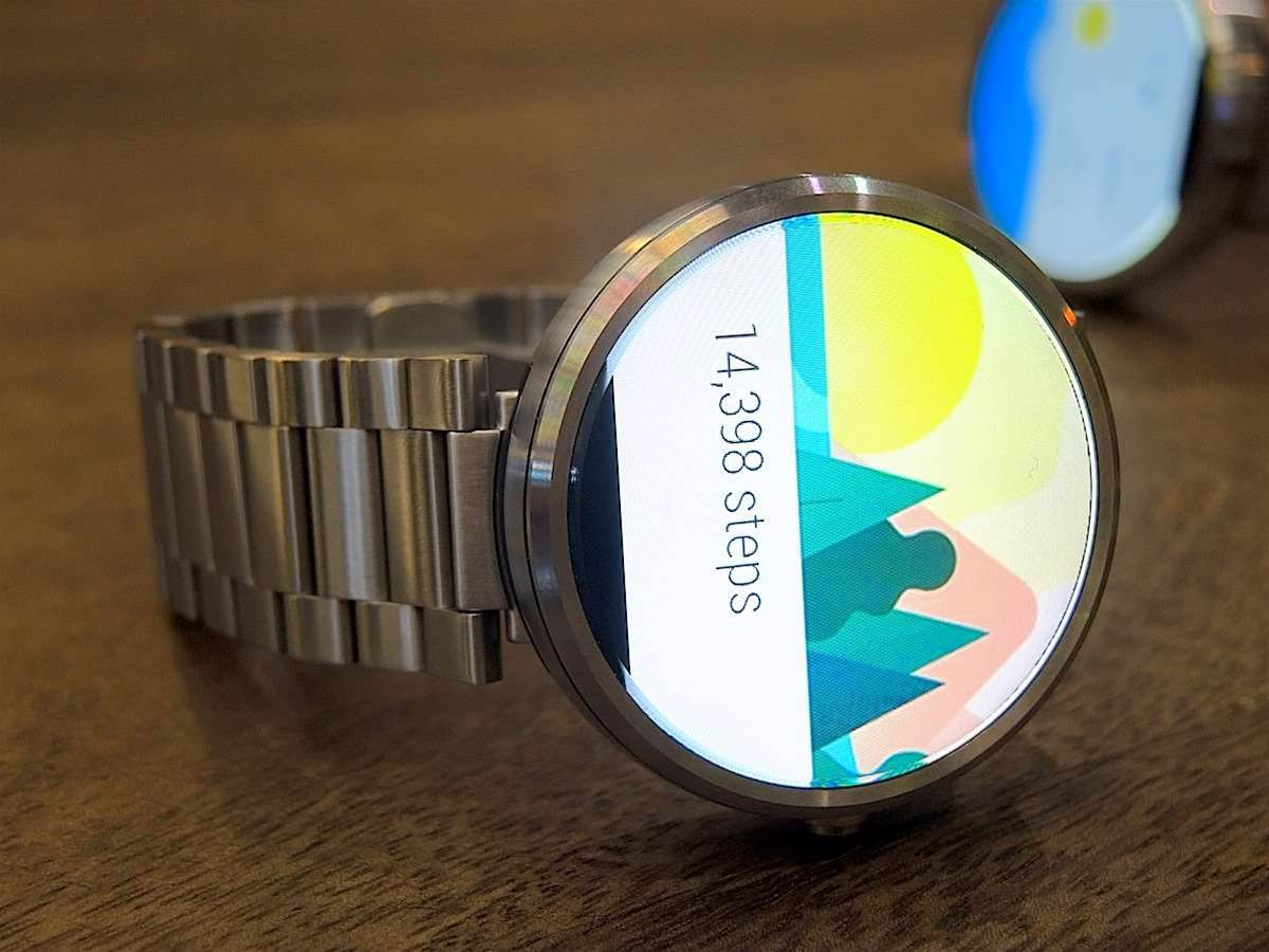 The new Moto 360 could come in two sizes