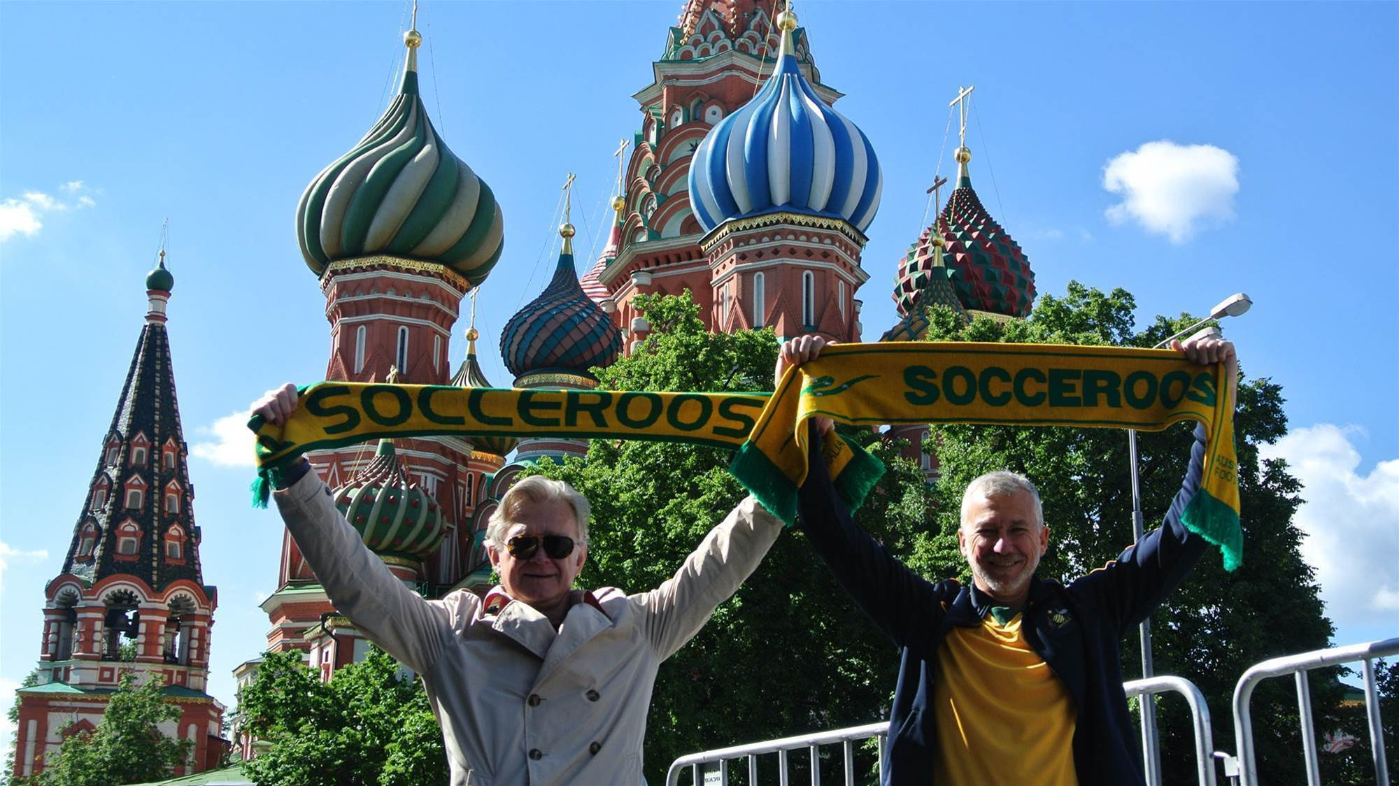 Russia a hit with Confeds Cup fans
