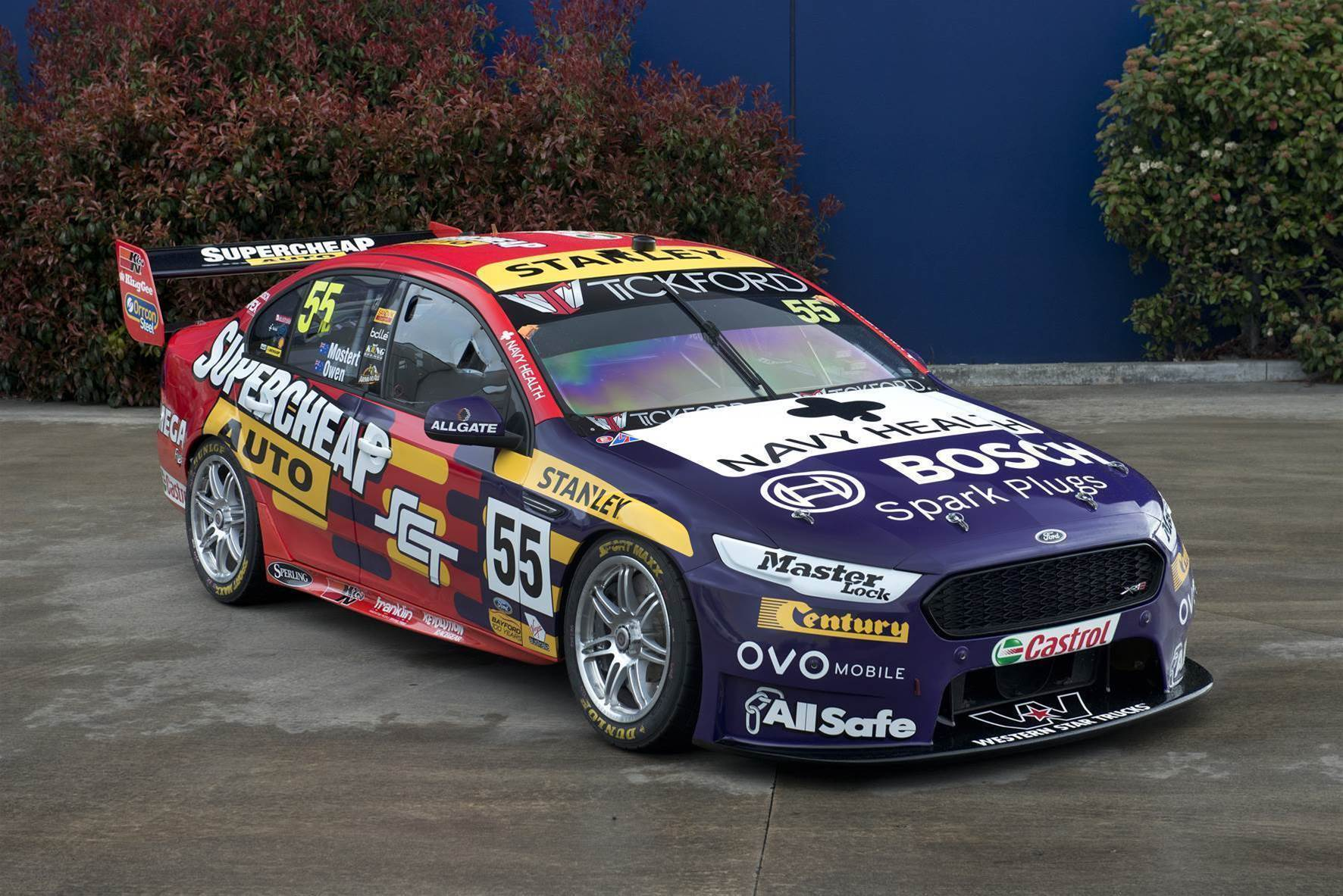 PRA honours Supercheap history with retro round livery