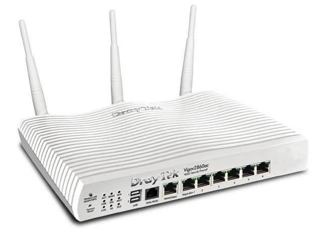 Review: DrayTek Vigor 2860ac VDSL2 Security Firewall