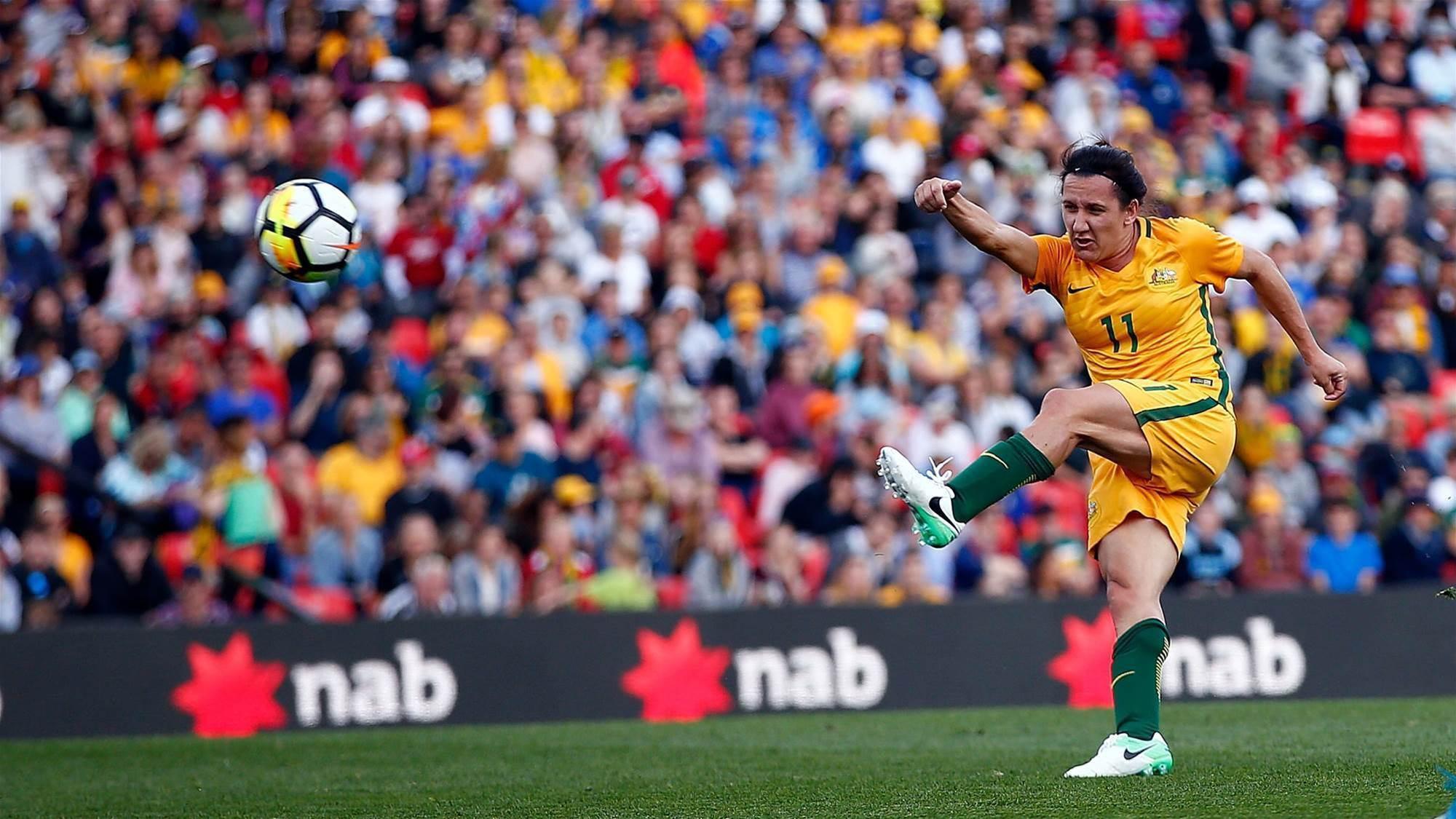 De Vanna: Matildas have a lot more to give