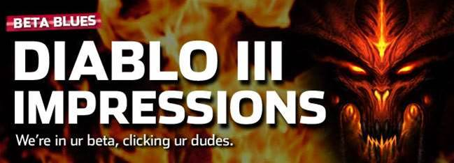 Diablo III beta impressions - MOAR CLICKS