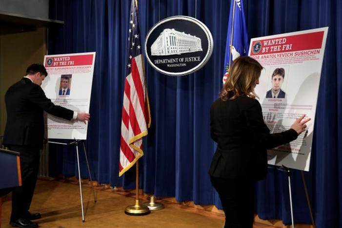 US indicts Russian spies over massive Yahoo hack