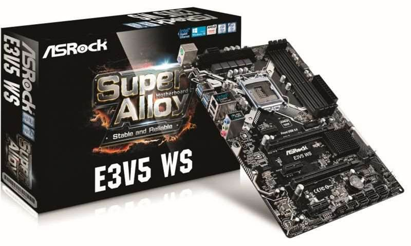 Review: ASRock's E3V5 WS is the heart of an affordable workstation