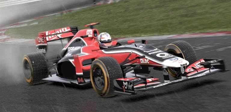 Get your first look at F1 2011