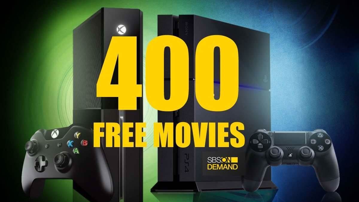 400 FREE MOVIES on PC, PS4 & XBONE