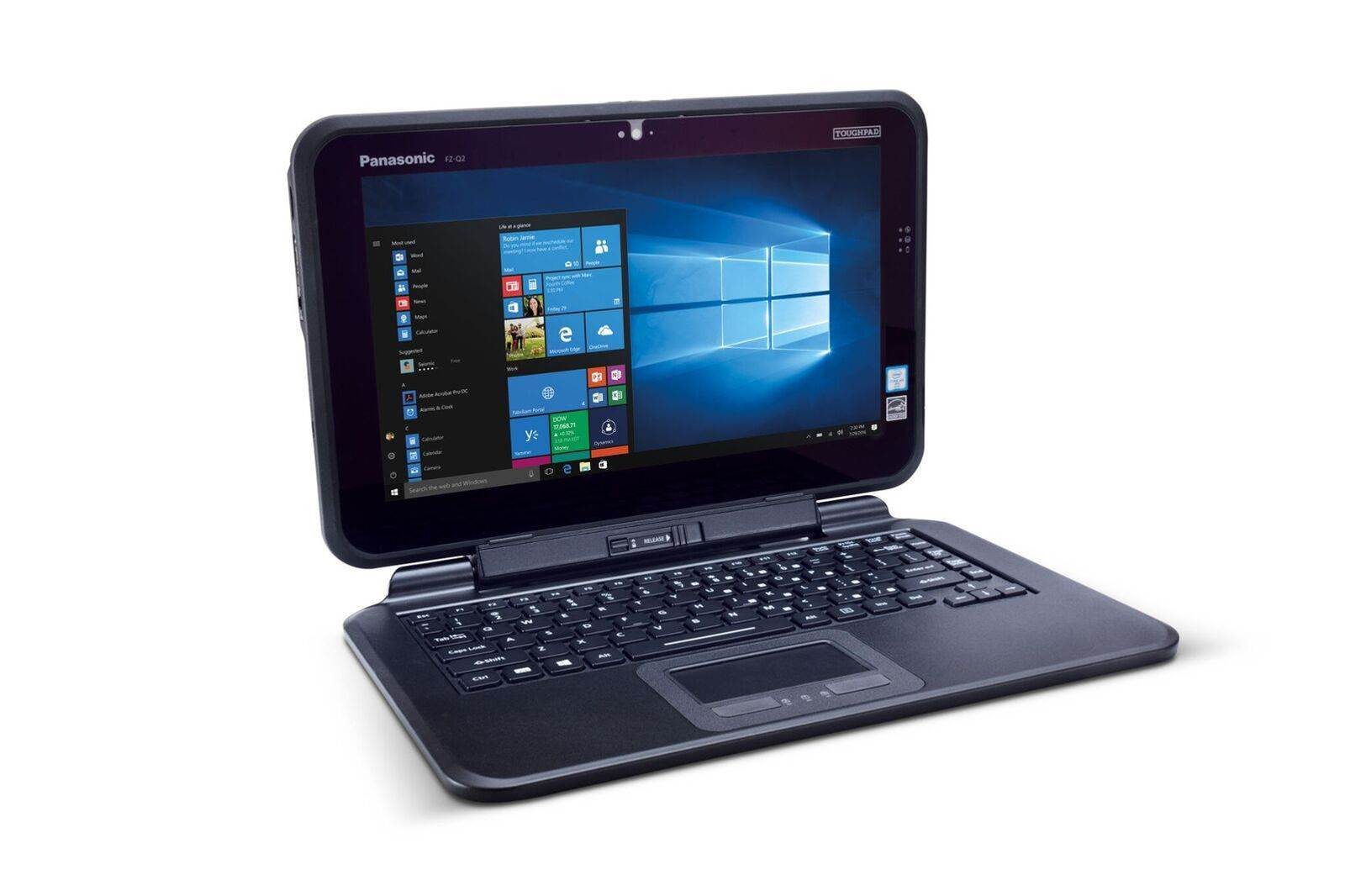 Panasonic launches new Toughpad FZ-Q2 semi-rugged convertible PC