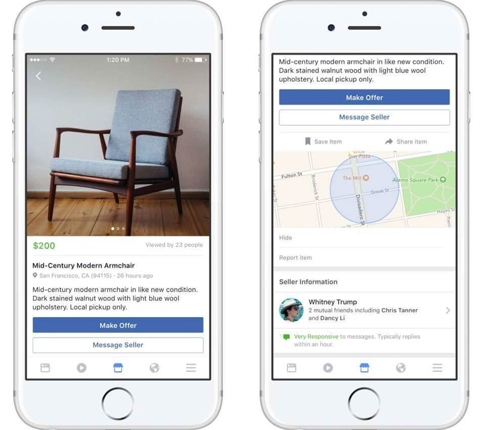 Facebook launches Marketplace in Australia