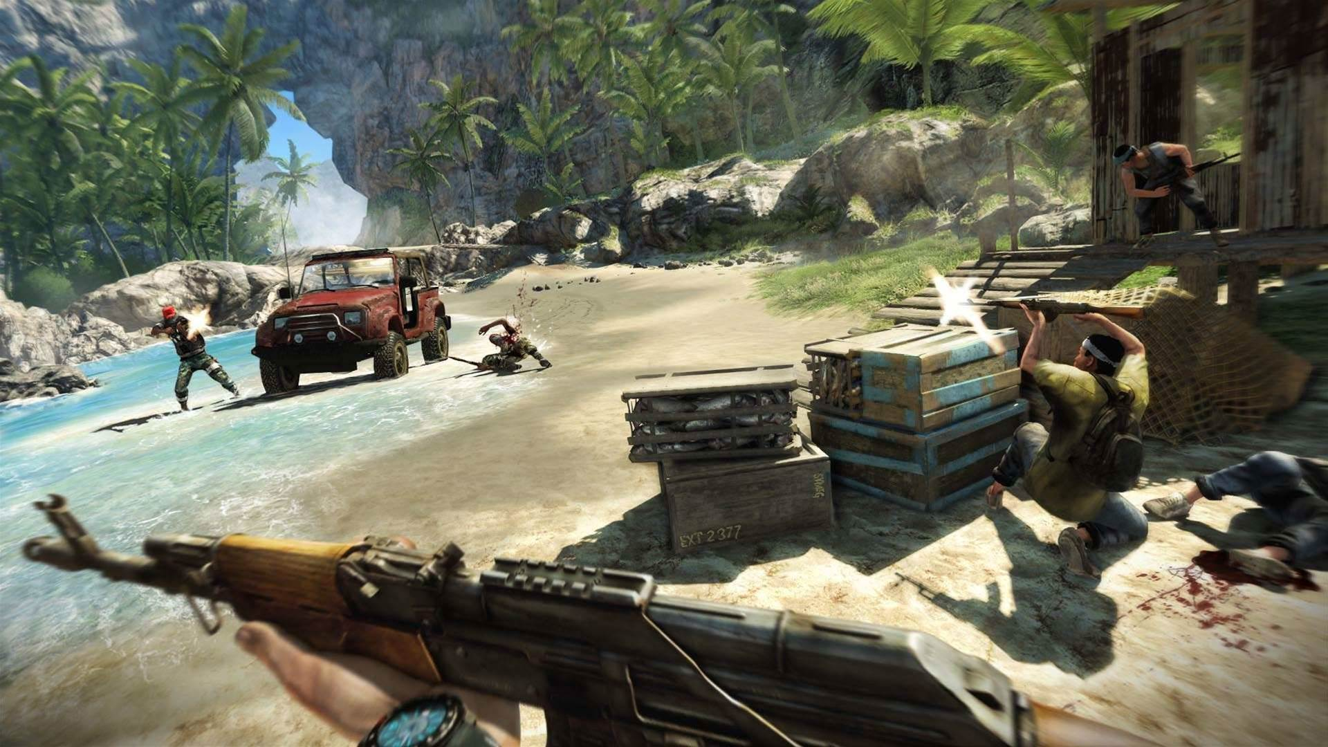 Far Cry 3 multiplayer hands on - on PC!