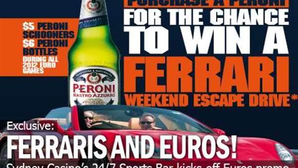 Win A Ferrari Spin At FourFourTwo's 24/7 Sports Bar