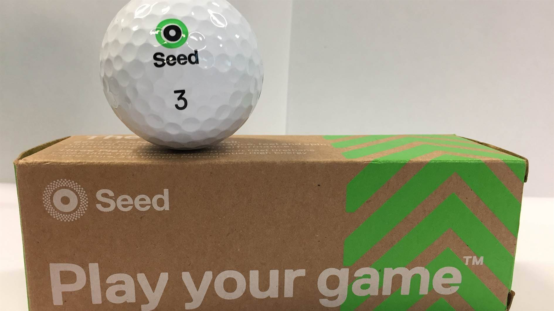 TESTED: Seed SD-01 'The Pro' golf ball