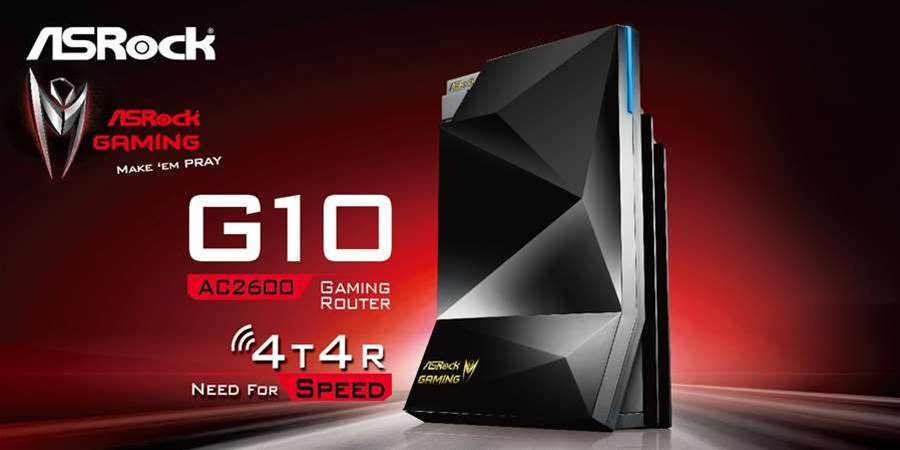 Asrock announces new gaming-focused G10 router