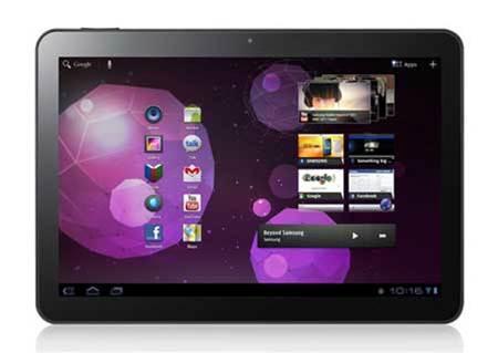 First look: Samsung Galaxy Tab 10.1v