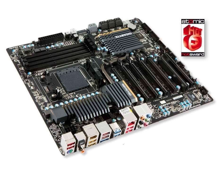 GIGABYTE's GA-990FXA-UD7 a tops option for AMD fans