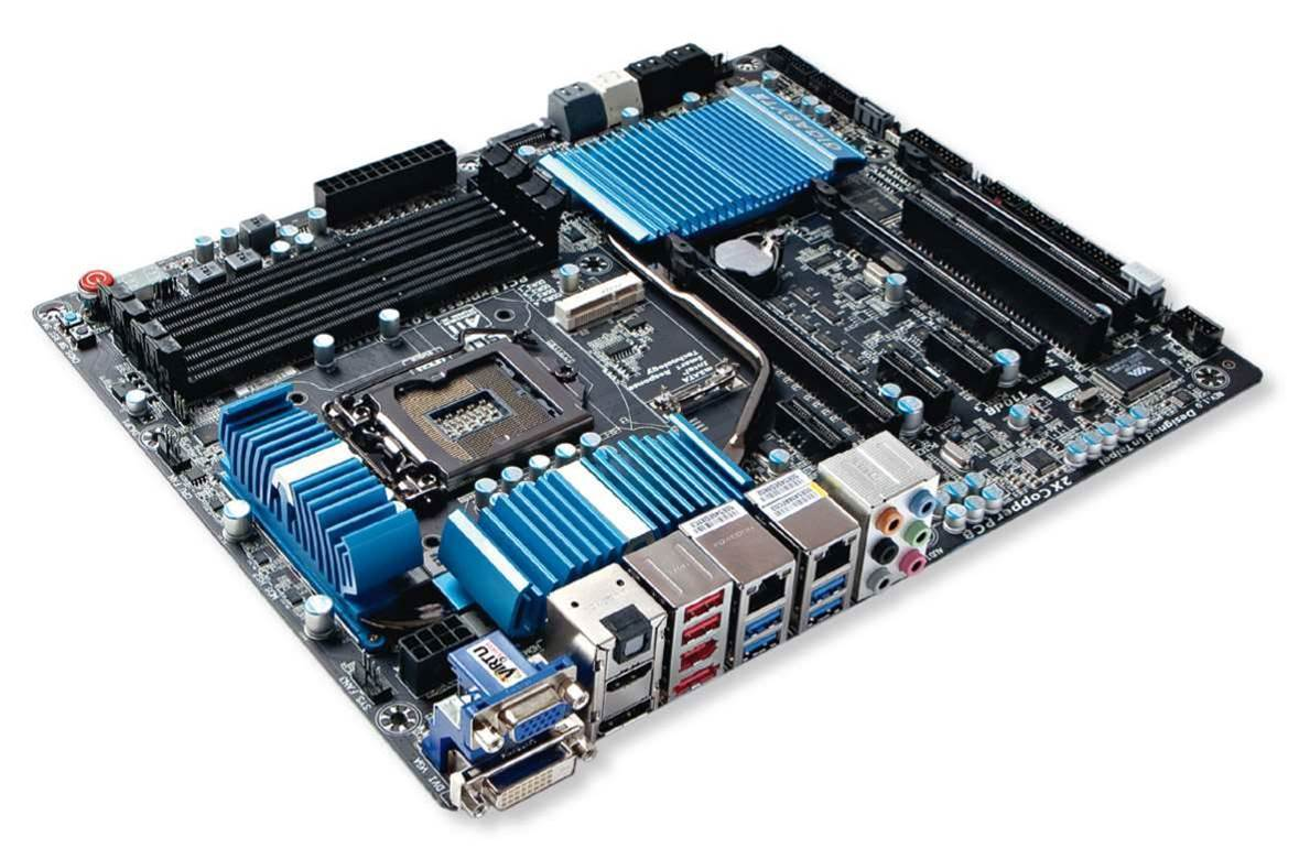 Gigabyte Z77X-UD5H motherboard: feature-rich, but not overkill