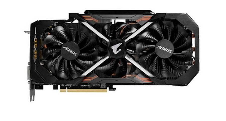 Get a peak at Gigabyte's new GeForce GTX 1080 Ti AORUS Xtreme video card