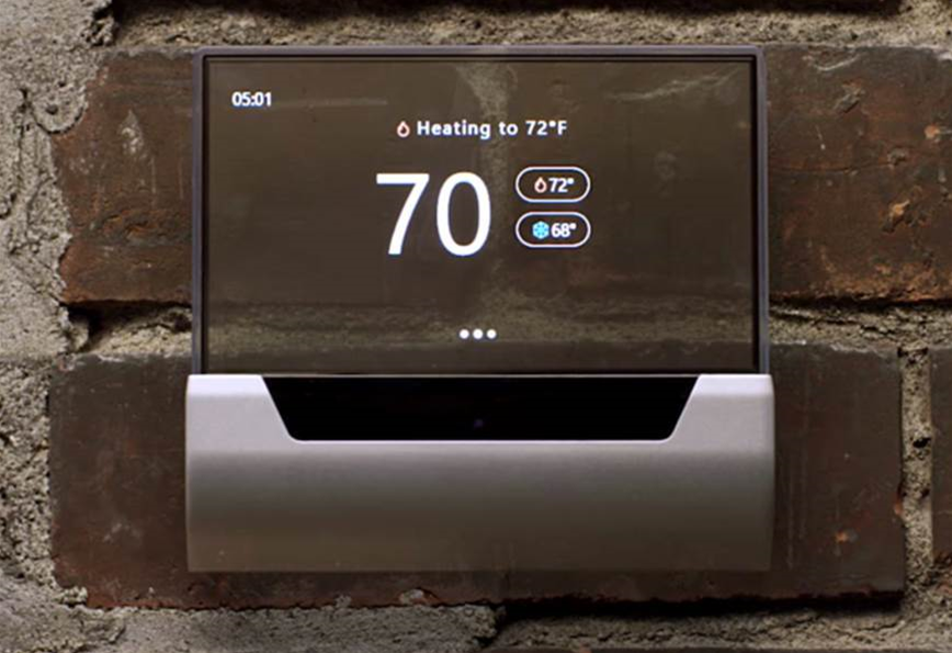 This Cortana-powered thermostat is a real work of art