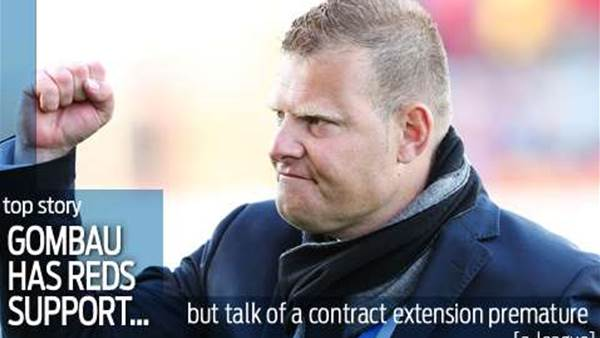 Adelaide back Gombau but refute new deal