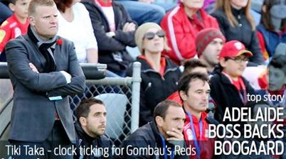 Result, not Boogaard, worries Gombau