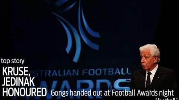 Kruse creates football awards history