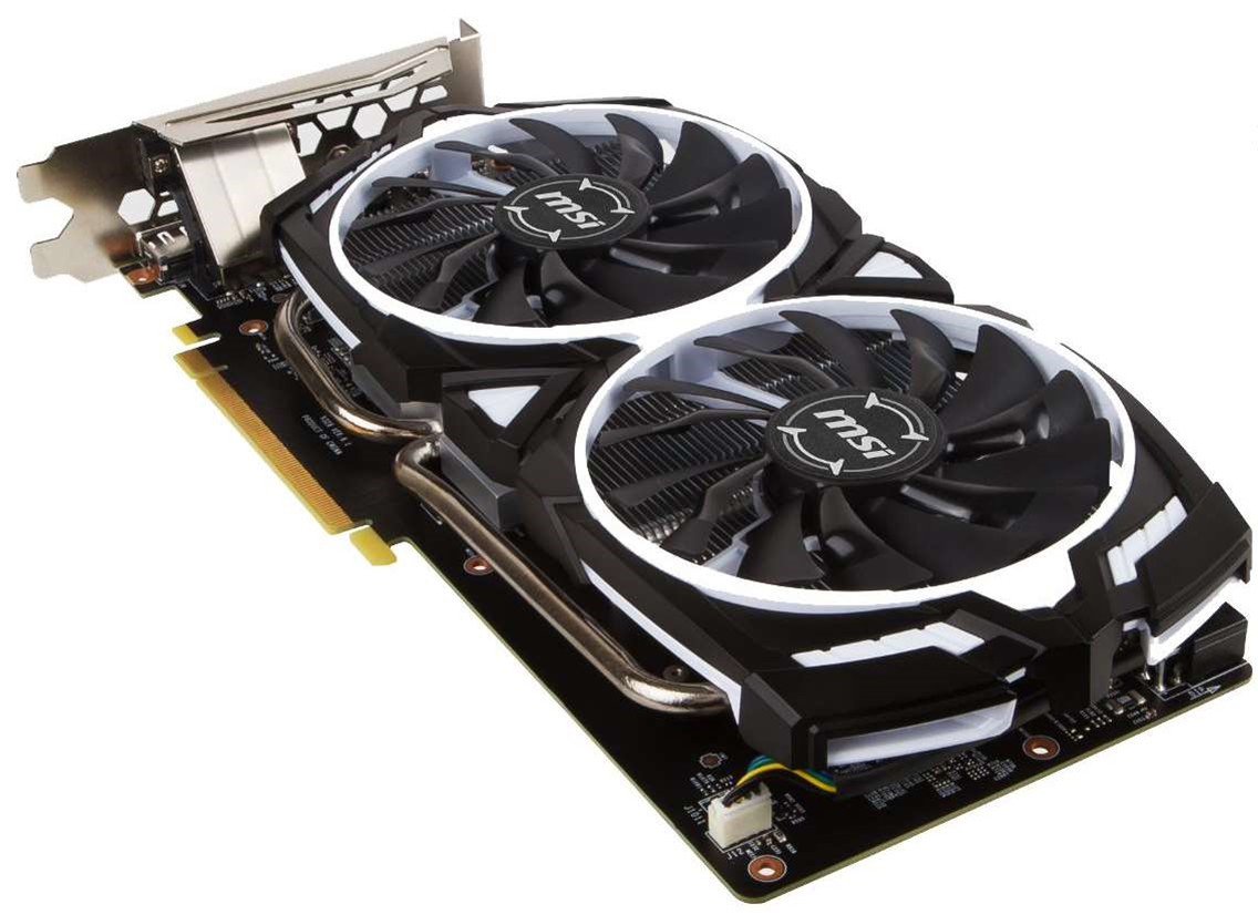 MSI reveals new GTX 1060 ARMOR 6G OC video card