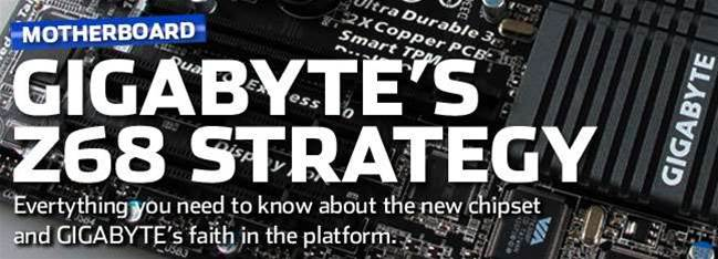 Gigabyte goes all-in with Intel's Z68 chipset