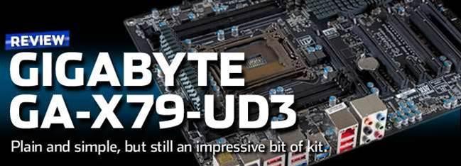 GIGABYTE's new GA-X79-UD3 a sensible mobo choice