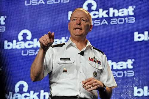 NSA chief defends surveillance programs at Black Hat