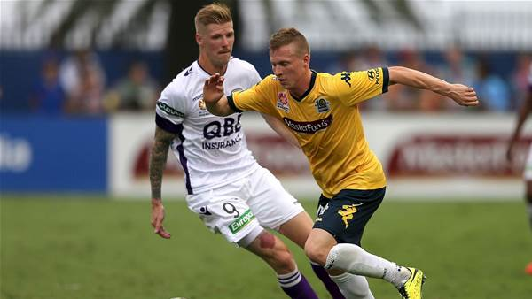 Perth Glory boost defence